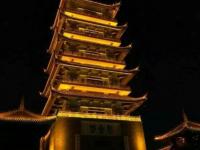 佛山桂城千灯湖公园夜景游记